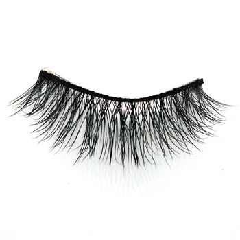 top grade high quality good lashes 100% 3d mink eyelash with OEM