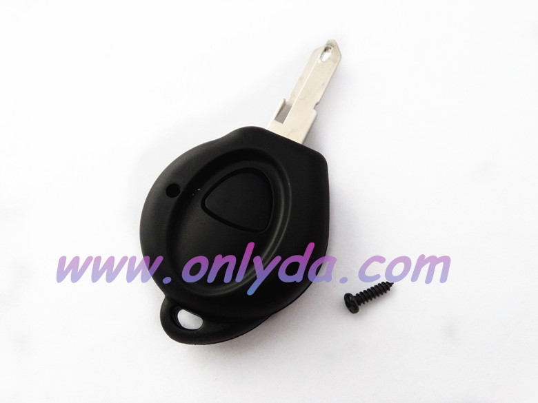 peugeot 1 button remote key blank for first model Peugeot 206