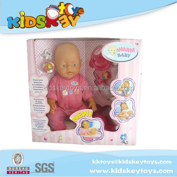 16inch Big Lovely Kids Chubby Dolls Funny kid toys crying baby dolls Function baby doll
