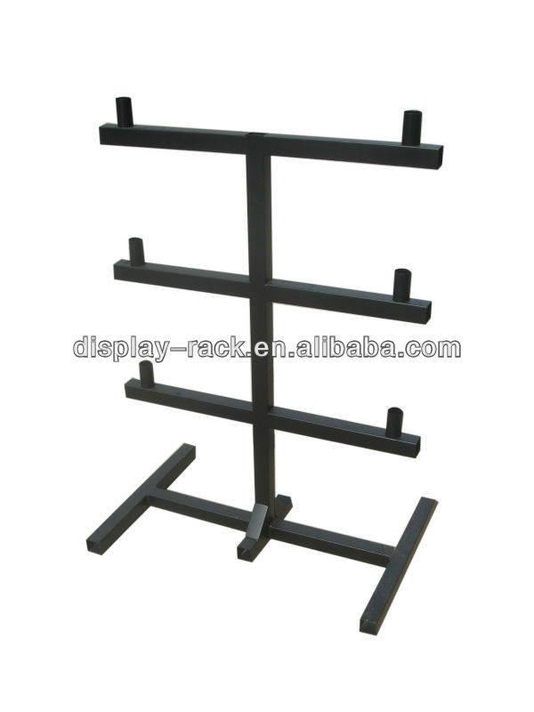 3 lines sanitary ware display rack with bead HSX-164