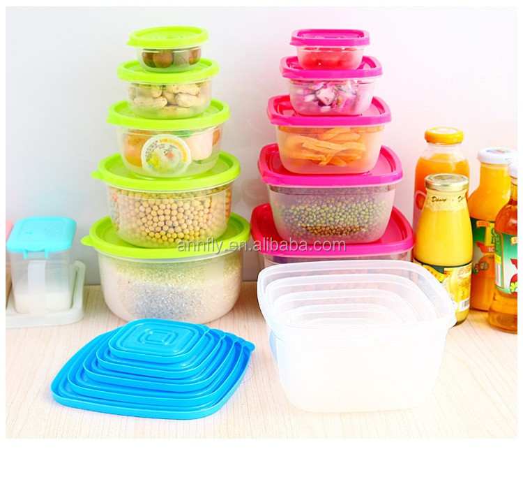 kitchen plastic vegetable food storage container