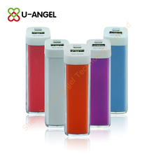 Best selling high quality lipstick power bank for iphone/nokia/handphone