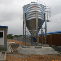 broiler poultry feed silo