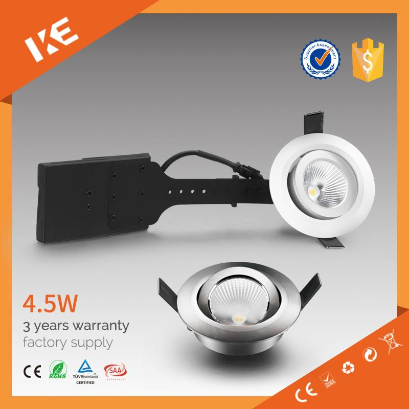 direct factory supply warm white cool white led downlight with 90mm cut out