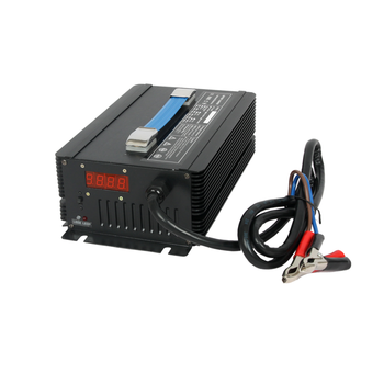 Multi-function Electric 54.6v 16a Li-Mn Battery Charger with Aluminium Case