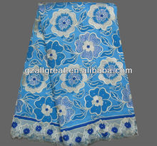high quality swiss african cotton voile lace fabric