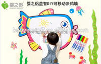 Baby matee best selling products DIY 3d wall sticker for kids/ removable wall sticker/ decoration wall sticker
