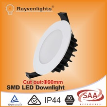 12w dimmable led downlight australian standard with cut out 90mm
