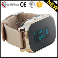 Popular sos emergency call button personal locator and waterproof gps kids tracker watch