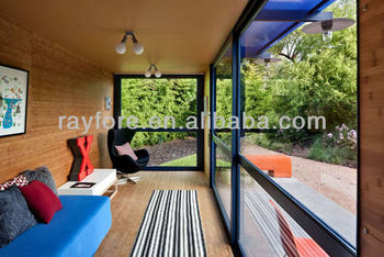 high quality container house with solar panels