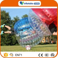 Newest style lighting soccer bubble amazing colorful dots string tie anchor bubble soccer