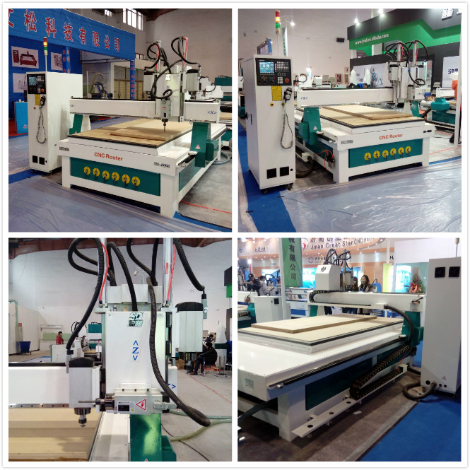 1325 cnc wood router for 3d processing