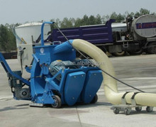 Dustless blasting for road/floor/pavement surface cleaning equipment