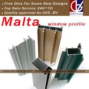 aluminum windows doors profile