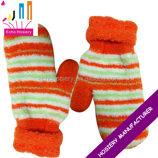 Women's fashion fuzzy mittens,winter mittens