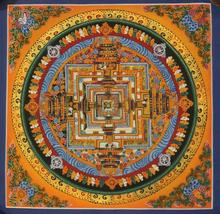 Mandala Thangka Tibetan Hand Painted in Nepal