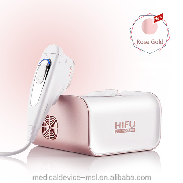 HIFU Muilifunction ultrasonic beauty machine for clean face and body silmming MSLHF01-H