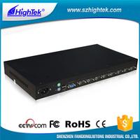 New style 350MHz USB 2.0 350MHz VGA 8 port kvm switch