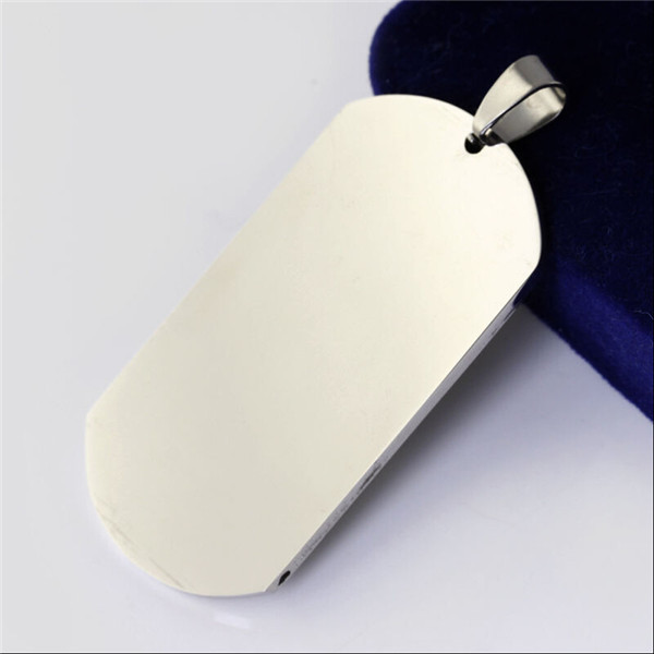 Yiwu Aceon Promotional Stainless Steel mirror polished metaza dog tag