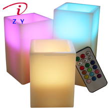 12 Color Changes Flameless LED christmas electric candle Lamp/Decoration Candle Birthday Party /