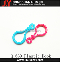 Colorful Hard Plastic Lobster Clasps Hook for Key Ring Chain / Keyring /DIY Project