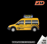 P5 LED taxi advertisement player