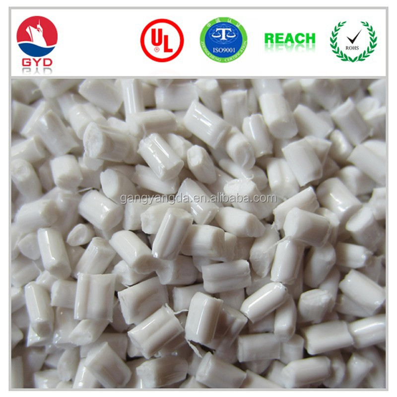 Glass Fiber Polycarbonate Plastic <strong>Pellets</strong>, Modified grade Polycarbonate Flame Retardant Plastic