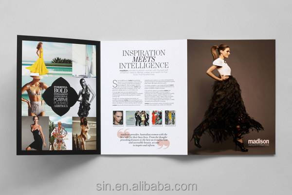 cosmetic design catalogue/brochure