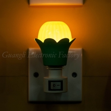 flower shape mini switch nightlight CE ROSH approved HOT SALE promotional gift items <strong>A02</strong>
