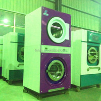 FORQU laundry automatic industrial laundry double stack washer and dryer