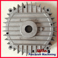 customized die casting motorcycle engine part