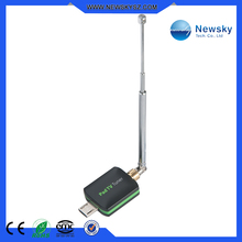 High quality dvb-t isdb-t one seg android tv receiver for smart phone
