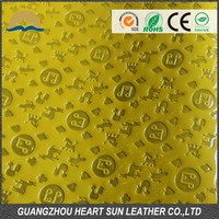 Synthetic Pu Pvc Leather Bags Material
