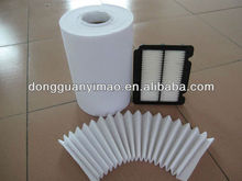 plastic air filter media YMF280