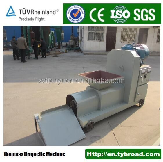 Wood sawdust charcoal briquette straw cutter machine