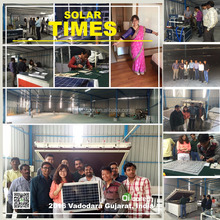 Ooitech making machines lamenting solar cells in production line BOM Raw Material Free Install