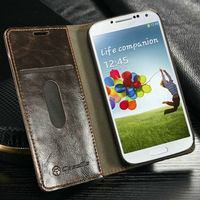 Ultra Thin Wallet Case For Samsung S4 Wallet Pouch For Samsung S4
