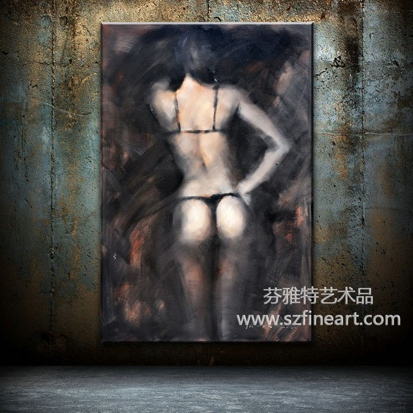 Popular design photo abstract nude women Chinese