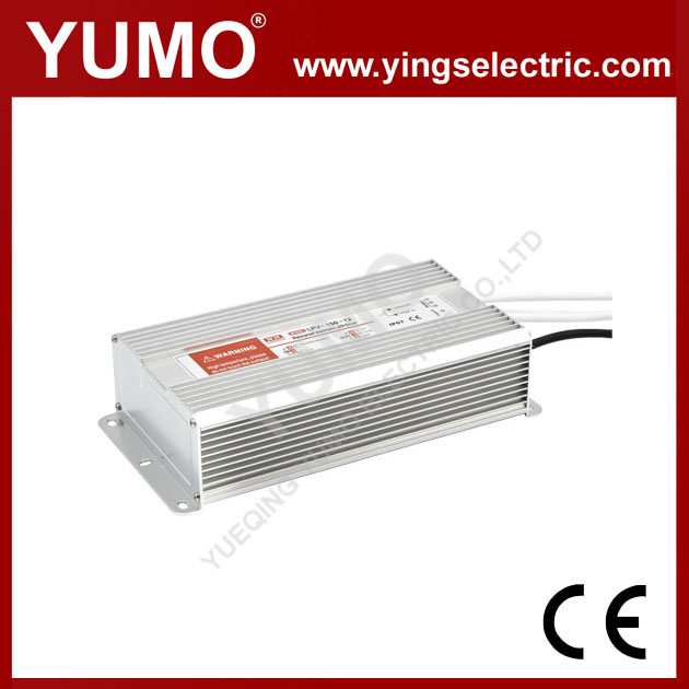 YUMO LPV-150 150W 12/24/36V LED Waterproof Series vice rated voltage SMPS mw switching power supply