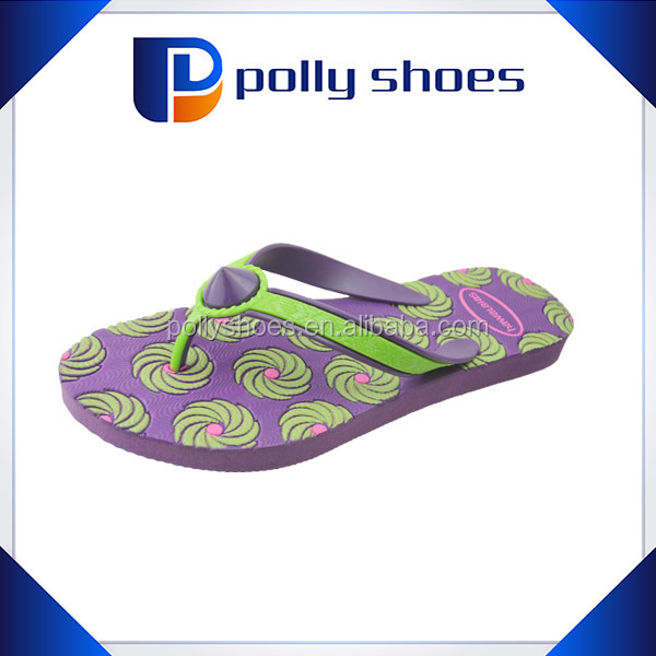 cheap price wholesale kids flip flops for summer beach use