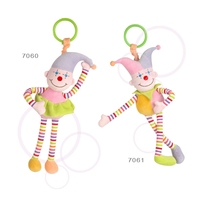 Hot sale baby cute 4 styles lamaze wrist rattle foot finder baby toy