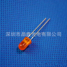 cheap watch phone 5mm orange led diode 1.9-2.1v epistar 0.06w led diode orange color wave length 595-610nm wholesale led