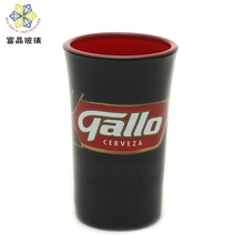 Hot Sale Tourist Souvenir thick Wall Glass Coffee Cup