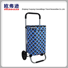 New style Detachable folding trolley shopping bag with wheels