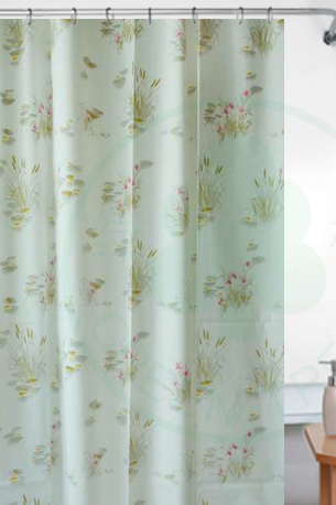polyester home goods curtain fabric shower curtains