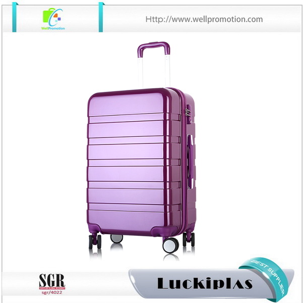 ABS Travel house luggage set, zipper frame suitcases luggage trolley case