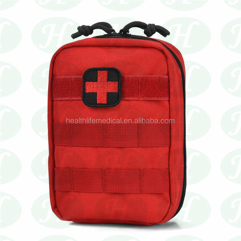 Portable adventure soft bag medical healthcare mini first aid kit