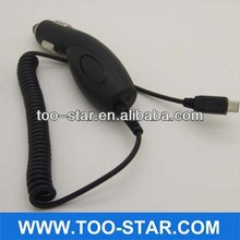 Black Micro-USB Micro USB Car Charger with cable for Samsung Galaxy S III / S3 i9300