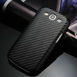 carbon fiber back case cover for sansung galaxy s3