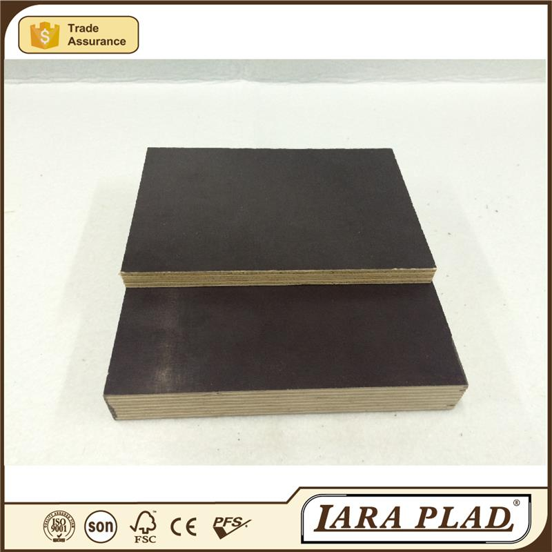 Best concrete imprint green film faced plywood with price Red Kapok